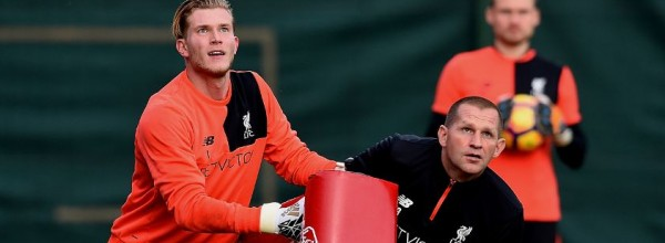 John Achterberg and Loris Karius