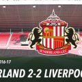 Sunderland 2-2 LFC