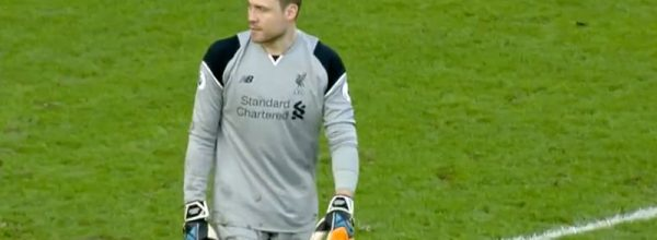 Simon Mignolet concedes against Hull