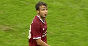 Chirivella playing for LFC