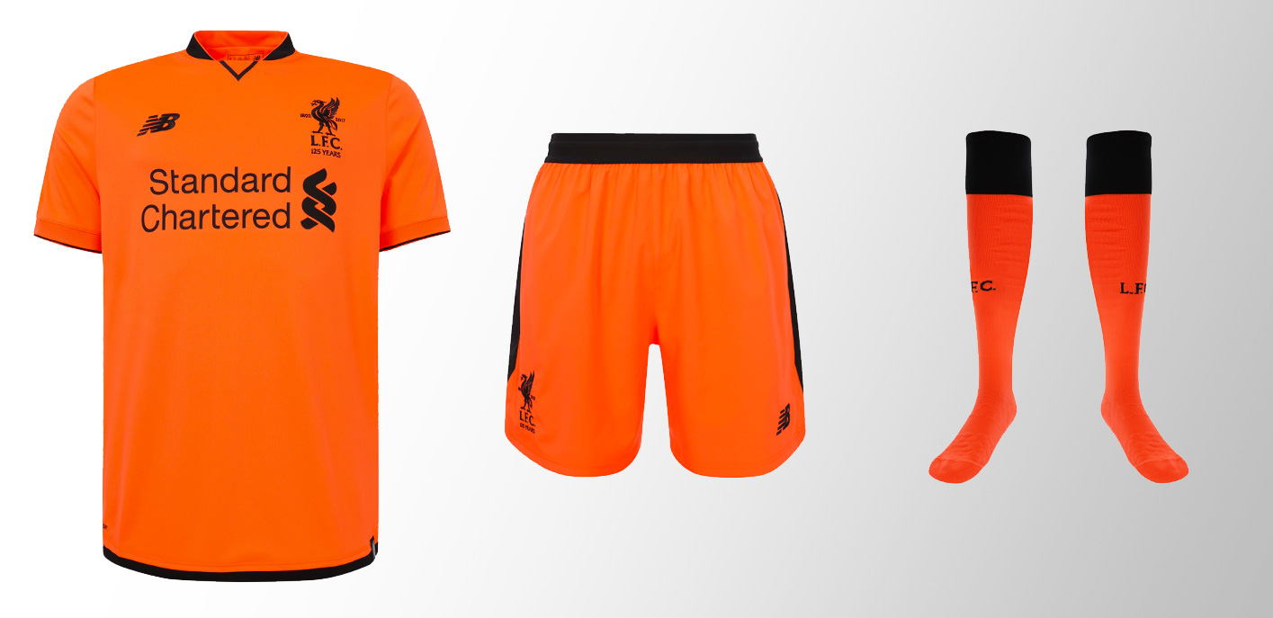 save off 11ad2 56784 Liverpool launch third kit for 2017-18 as reds arrive in ...