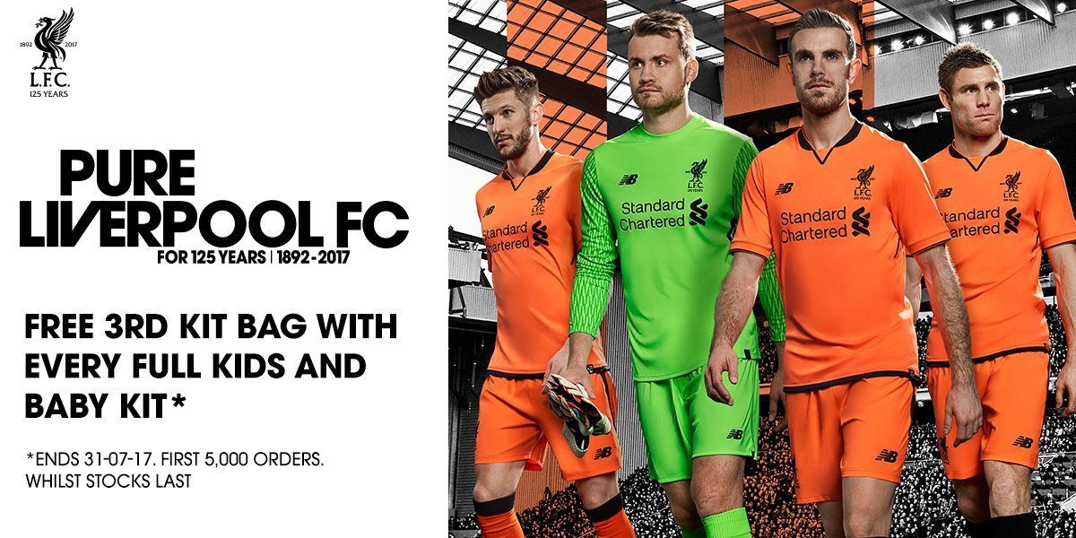 LFC Third Kit 2017-18 Special Offer