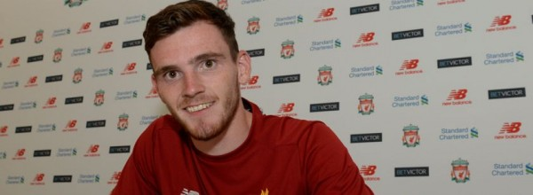 Andy Robertson signs for LFC