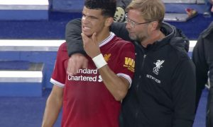 Dominic Solanke and Jurgen Klopp