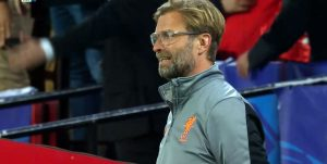 Jurgen Klopp watches on in Sevilla