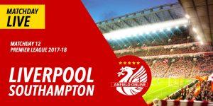 Liverpool v Southampton LIVE