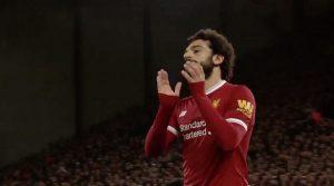 Mo Salah breaks a Liverpool record for goalscoring