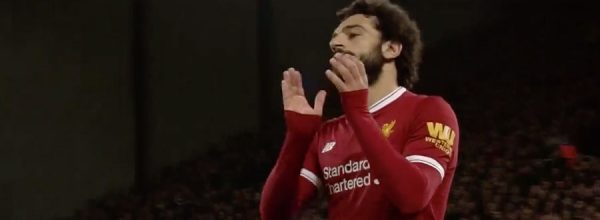 Mo Salah breaks a Liverpool record for goalscoring