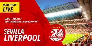 LIVE: Sevilla v LFC