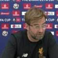 Klopp FA Cup West Brom preview