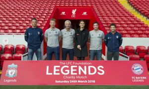LFC Legends v Bayern Munich