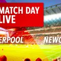 Liverpool v Newcastle United Live
