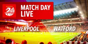 Liverpool face Watford in the Premier League