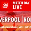 Liverpool v Roma LIVE semi final graphic