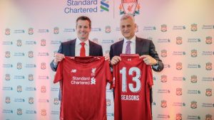 LFC Standard Chartered shirt deal