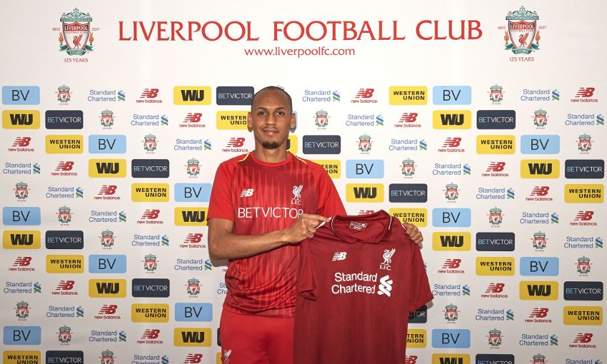 Fabinho signs for the reds