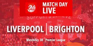 LIVE: Liverpool v Brighton