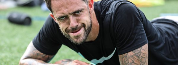 Danny Ings training on Instagram