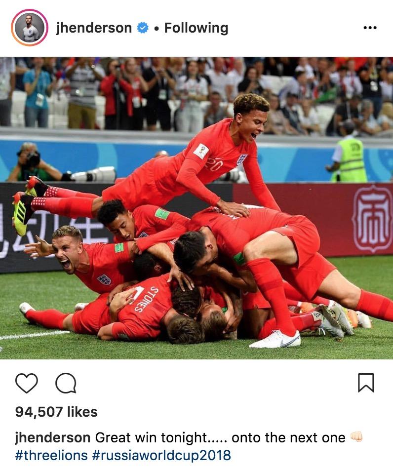 Jordan Henderson World Cup 2018
