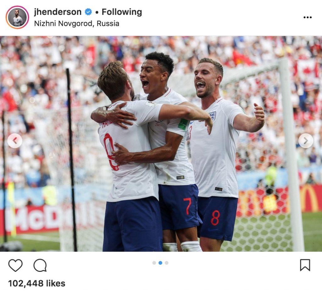Henderson in England 6-1 win v Panama