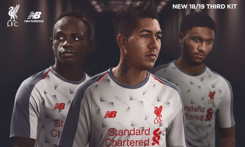 4a44d445d97 Liverpool's new grey third kit for 2018/19 - Anfield Online