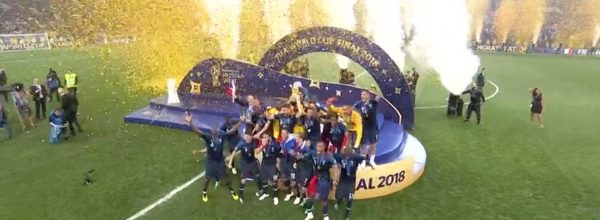 World Cup Final France 2018 v Croatia