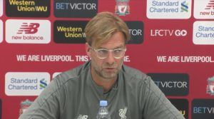 Jurgen Klopp delivers his press conference