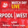LIVE: Liverpool v West Ham