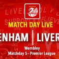 Spurs v Liverpool LIVE match updates