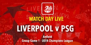 Live Updates - Liverpool v PSG Champions League