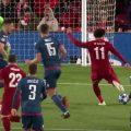 Mo Salah scores against Red Star Belgrade