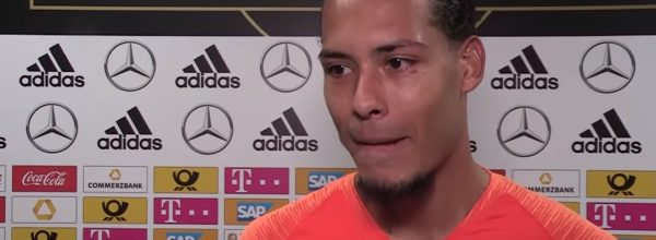Van Dijk for the Netherlands