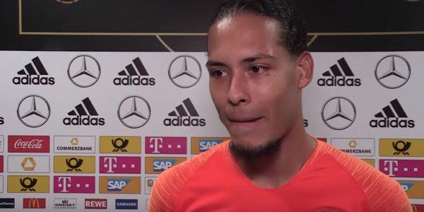 Van Dijk for the Netherlands