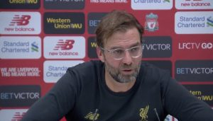 Klopp ahead of the LFC - Man Utd game