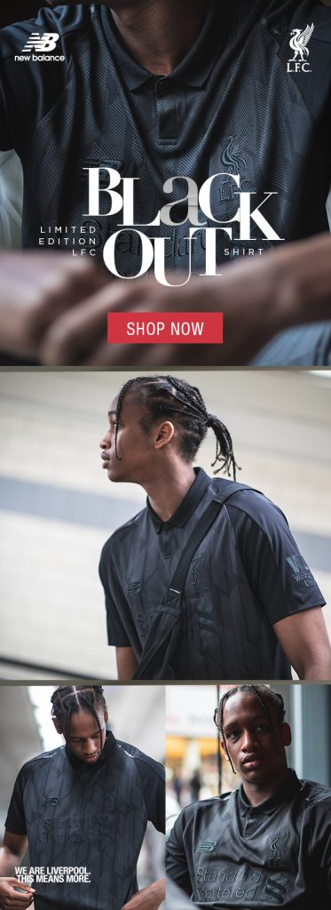 3971ccd59bc LFC launch limited edition blackout 2018 19 shirt - Anfield Online