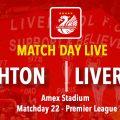 LIVE Brighton v Liverpool