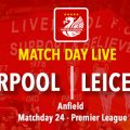 LIVE Liverpool Leicester