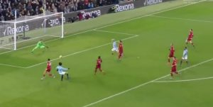 Sane scores for Man City v Liverpool