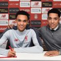 Trent Alexander-Arnold and his brother