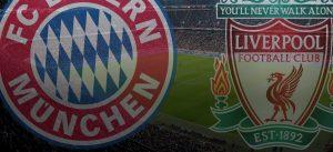 LIVE Bayern v Liverpool