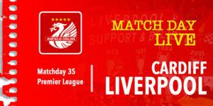 LIVE Cardiff v Liverpool