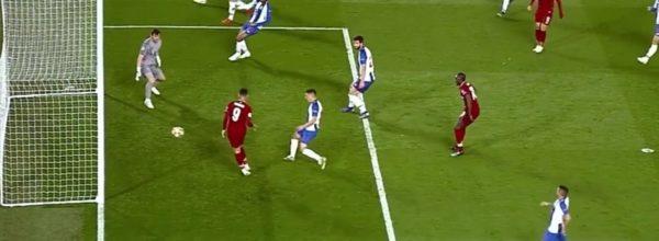 Firmino scores v Porto
