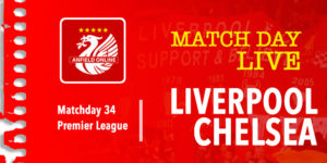 Liverpool welcome Chelsea to Anfield