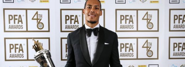 Virgil van Dijk scoops PFA Player of the Year 2018/19