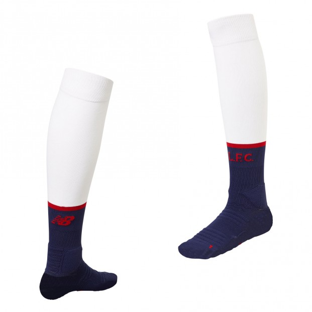 LFC 2019-20 Away Socks white/blue