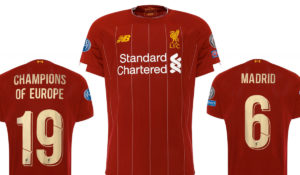 LFC European Home Shirt 2019-20