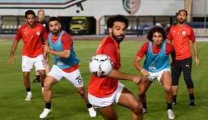 Mohamed Salah at African Cup of Nations 2019