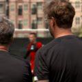 Klopp watching on LFC training on LFC's 2019 US Tour