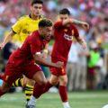 Oxlade-Chamberlain on LFC's US Tour v Dortmund