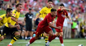 Oxlade-Chamberlain on LFC's US Tour v Dortmund